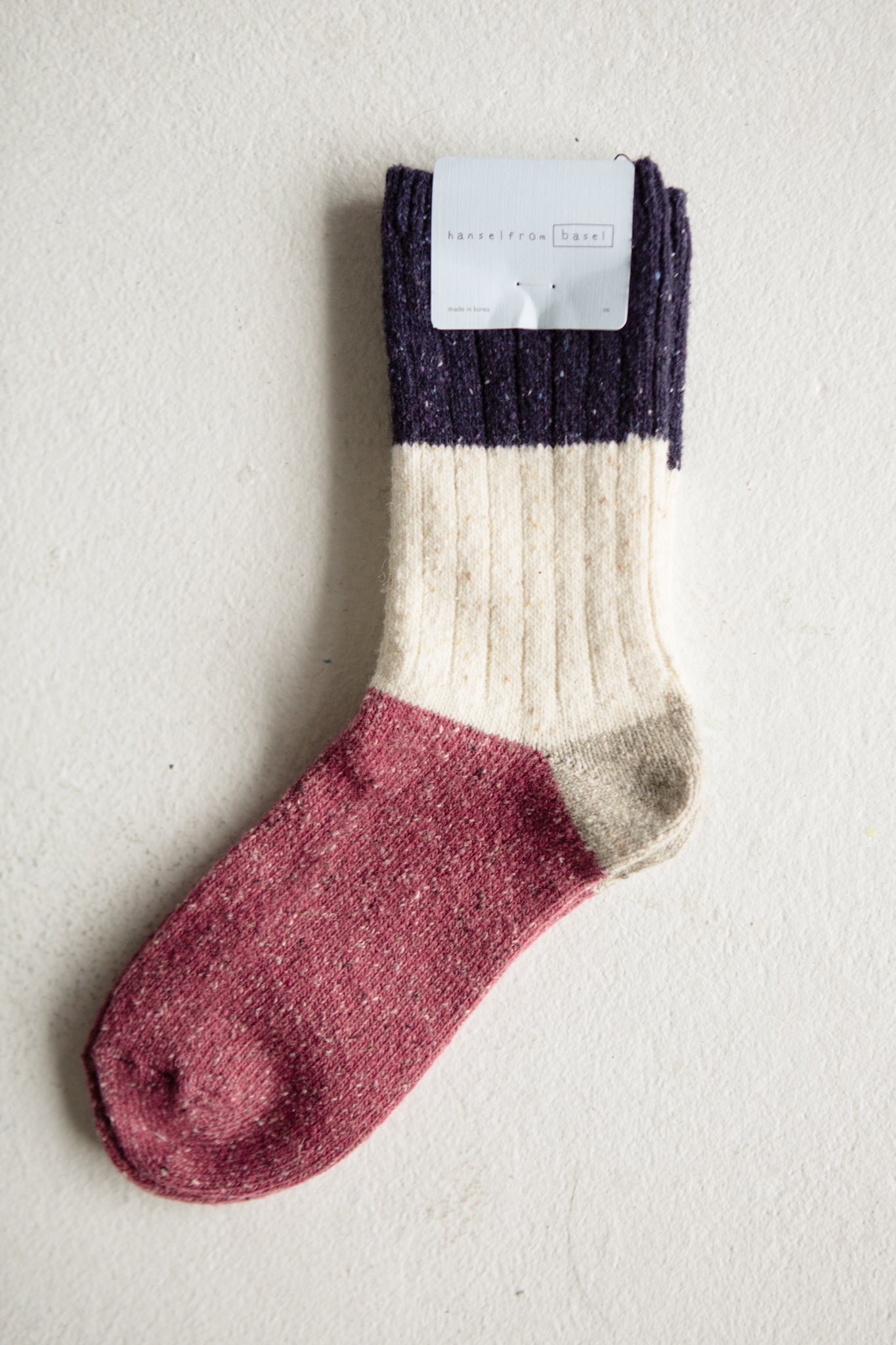 Berry Trio Crew Sock