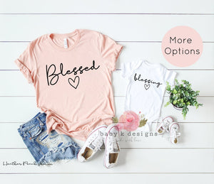 Blessed and Blessing - Set of 2