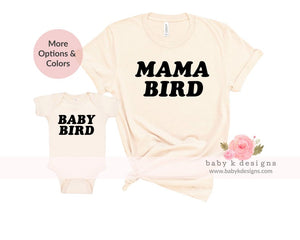 Mama and Baby Bird 2.0 - Set of 2