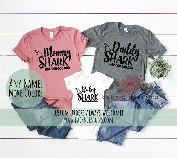 Baby Shark Matching Family Shirts