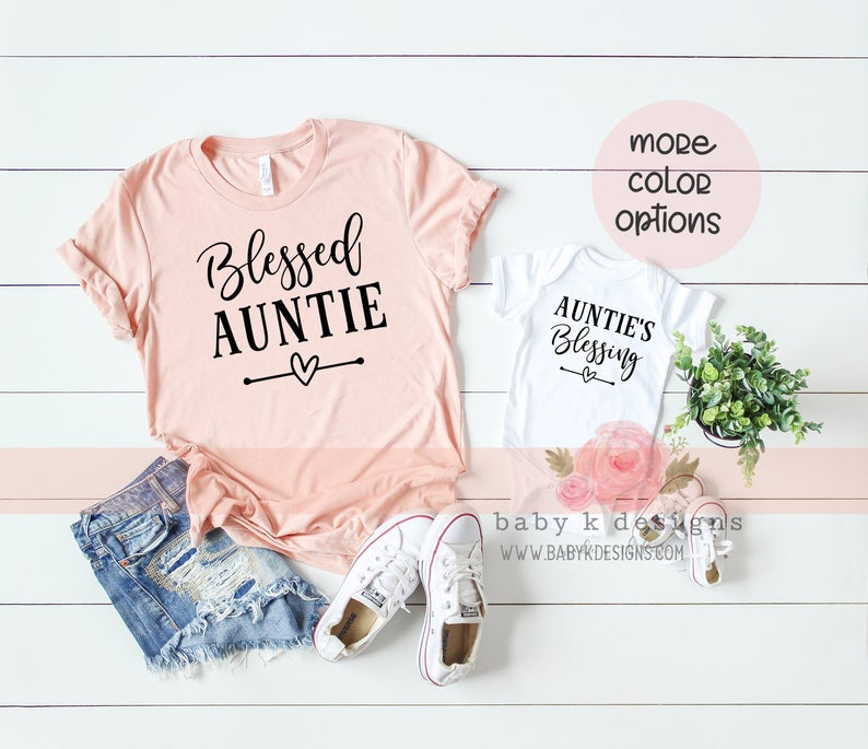 Blessed Auntie - Set of 2