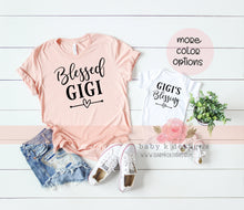 Load image into Gallery viewer, Blessed Gigi - Set of 2