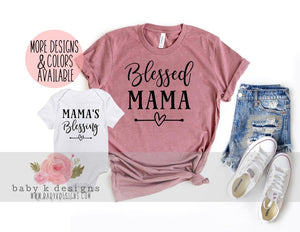 Blessed Mama - Set of 2