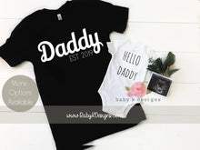 Load image into Gallery viewer, Daddy Set of 2