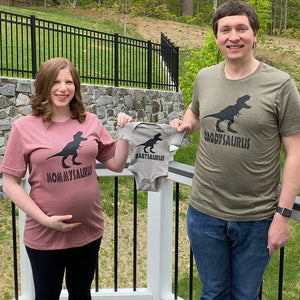 Dinosaur Matching Family Shirts