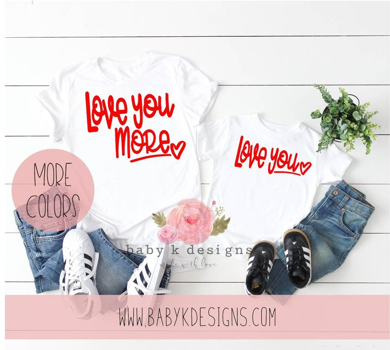 Love you More - Set of 2