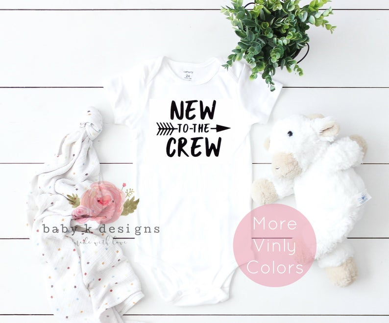 New To The Crew Onesie