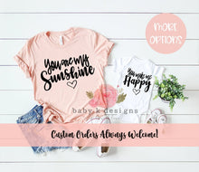 Load image into Gallery viewer, You Are My Sunshine - Set of 2