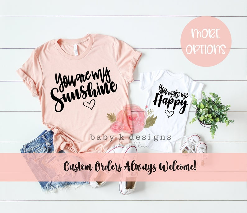 You Are My Sunshine - Set of 2