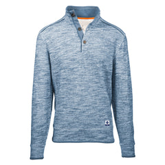 Maple Leafs Salute Men's Bronson Henley Long Sleeve