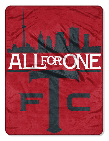 Toronto FC All For One Blanket