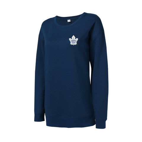 Maple Leafs Ladies Lunar Quilted Crew