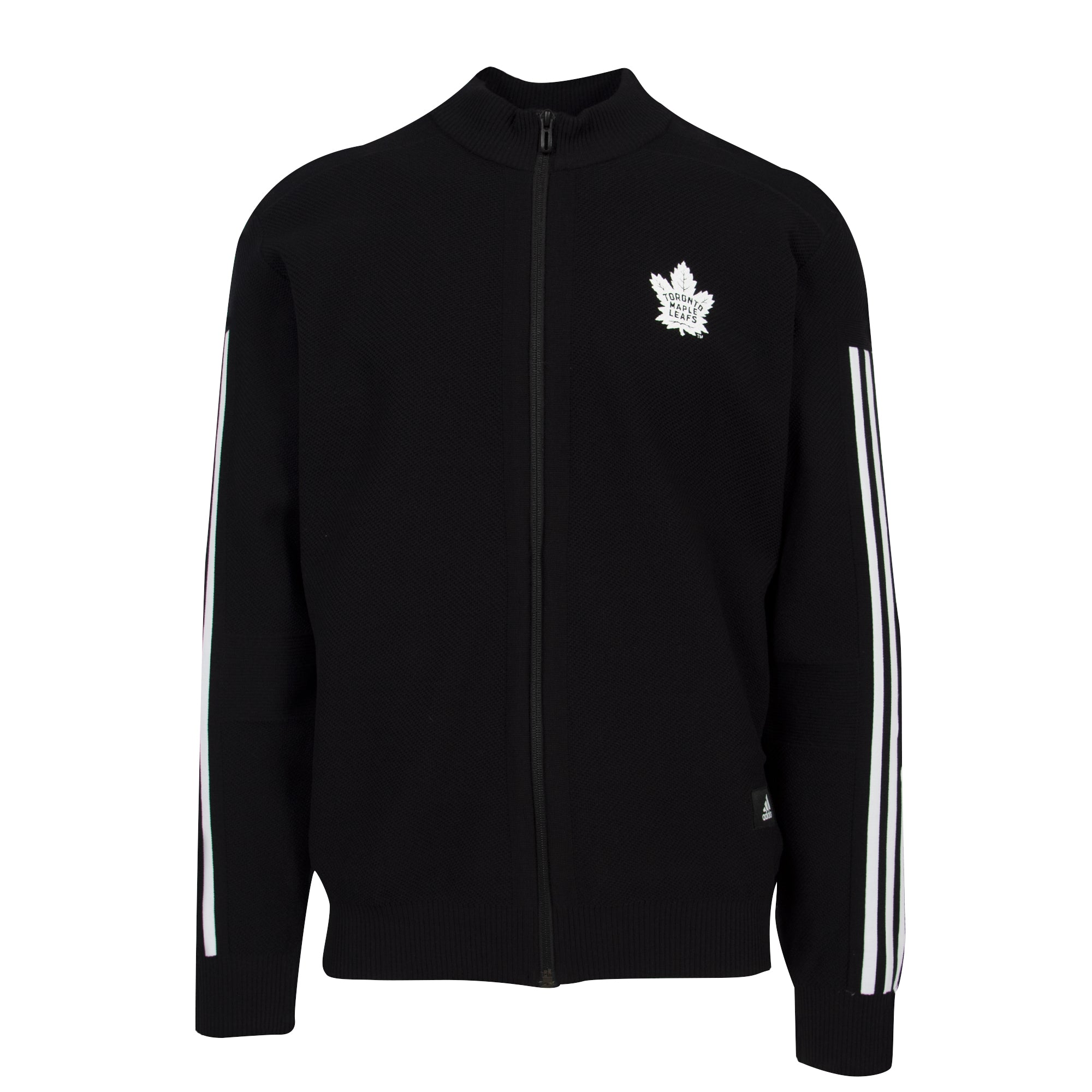 Maple Leafs Adidas Men's Culture Stadium ID Full Zip Track Jacket