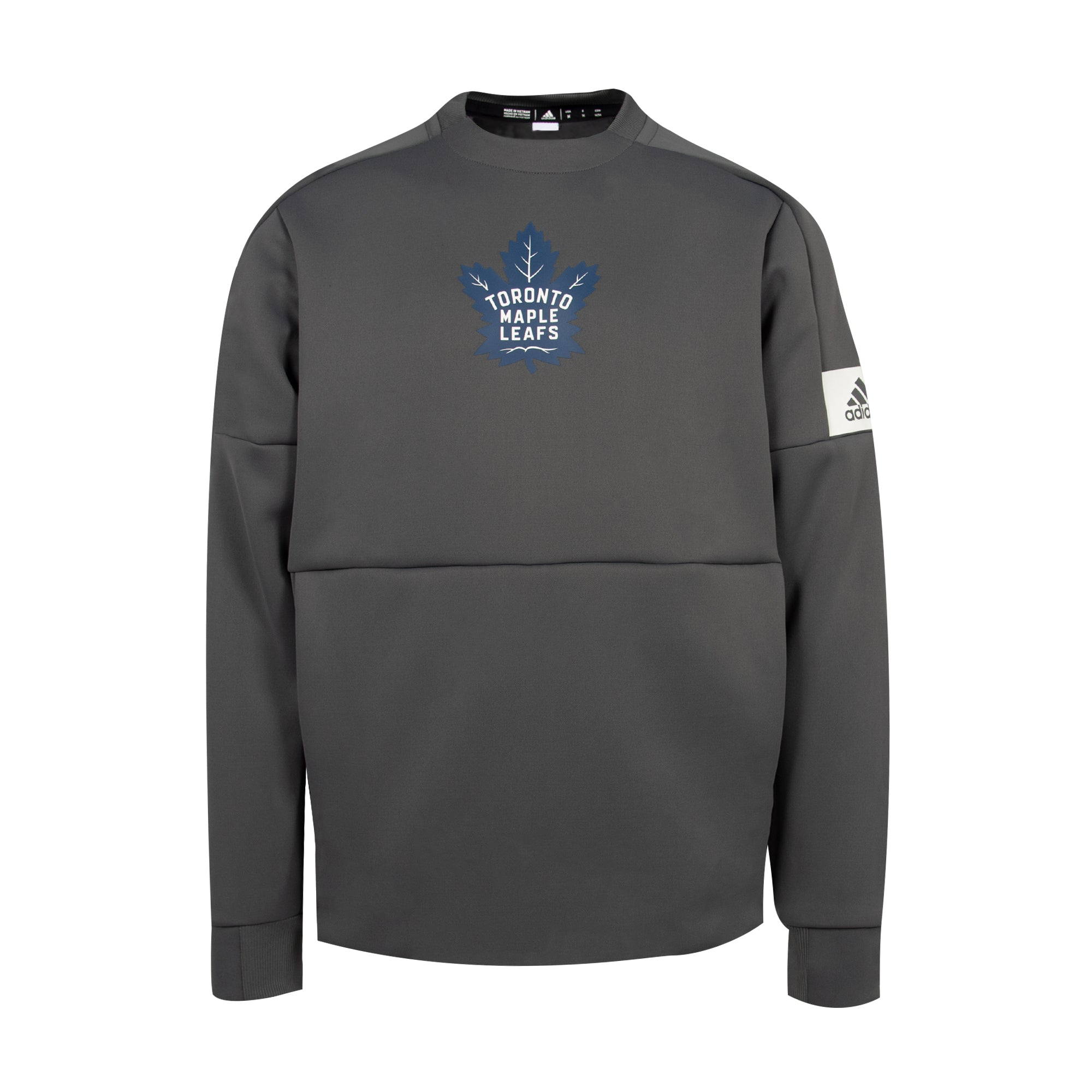 Maple Leafs Adidas Men's Sports Game Mode Crew Sweater