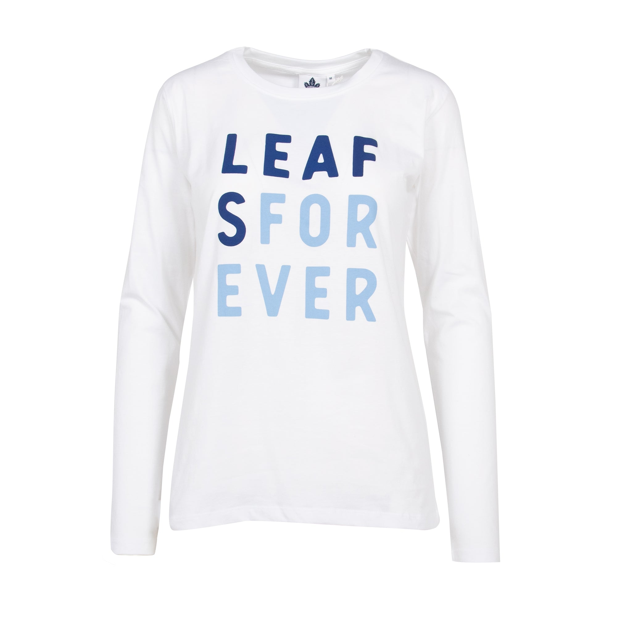 Maple Leafs Ladies Leafs Forever Long Sleeve Tee
