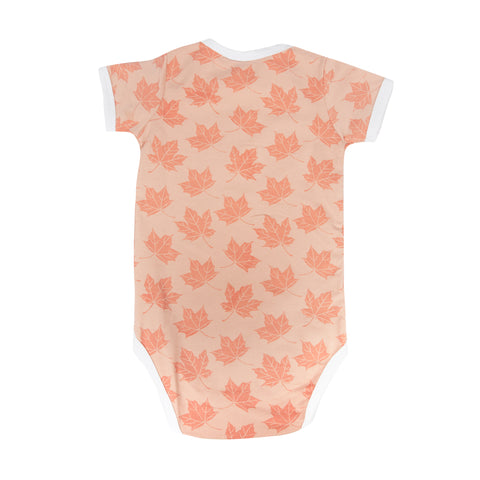 Maple Leafs Infant 3-Piece Onesie Set - PINK