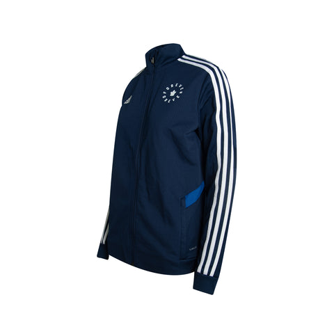 Maple Leafs Adidas Ladies Forever Track Jacket