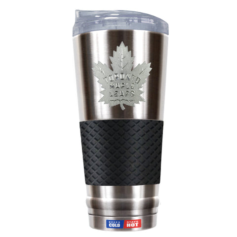 Maple Leafs 24oz Puck Grip Travel Mug