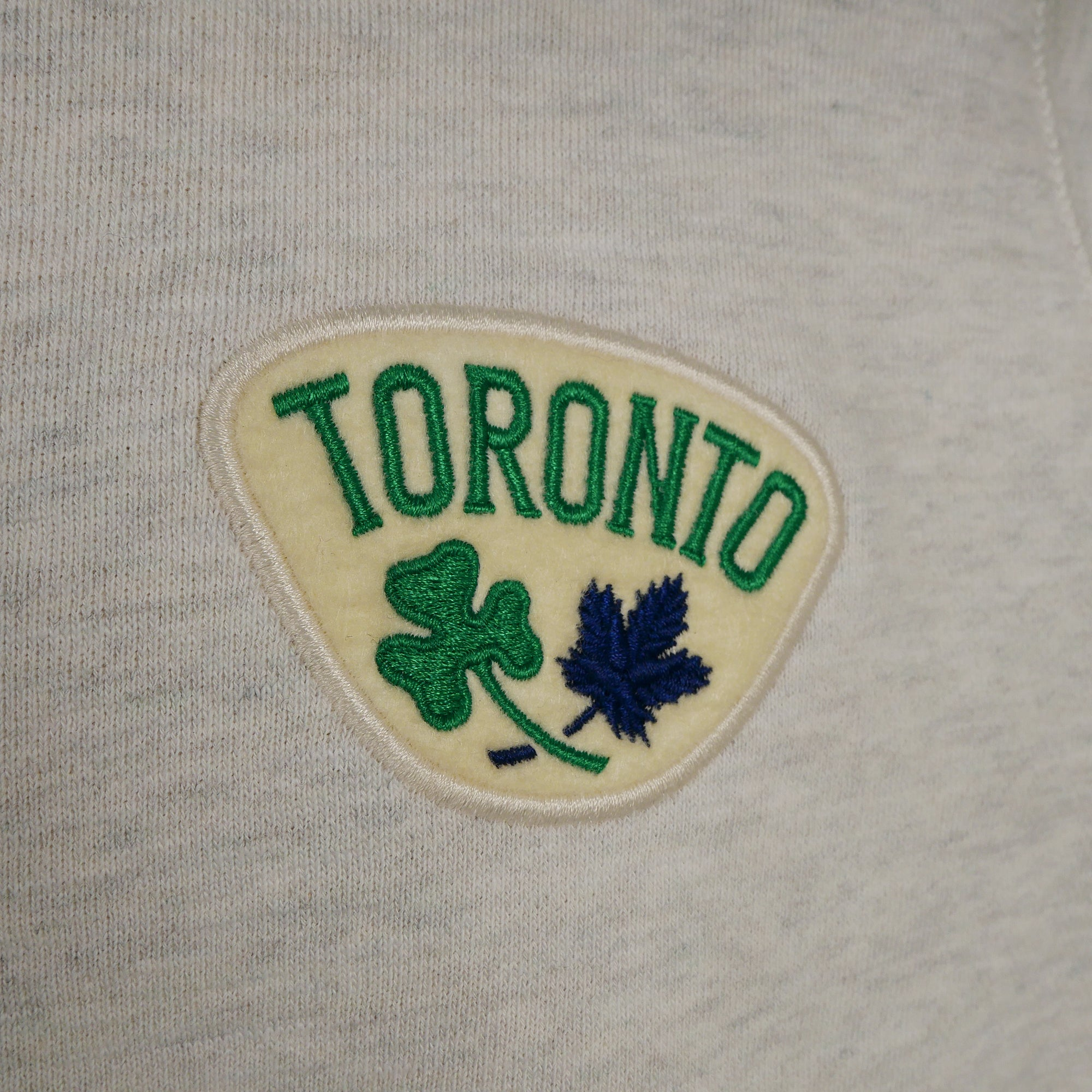 Maple Leafs Roots Men's St Pats Freedom Crew Sweater