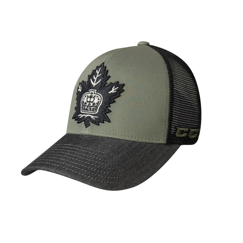 Toronto Marlies Adult The Army Mesh Trucker Hat