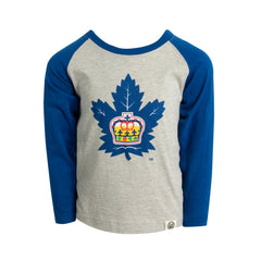 Marlies Toddler Raglan Logo Tee