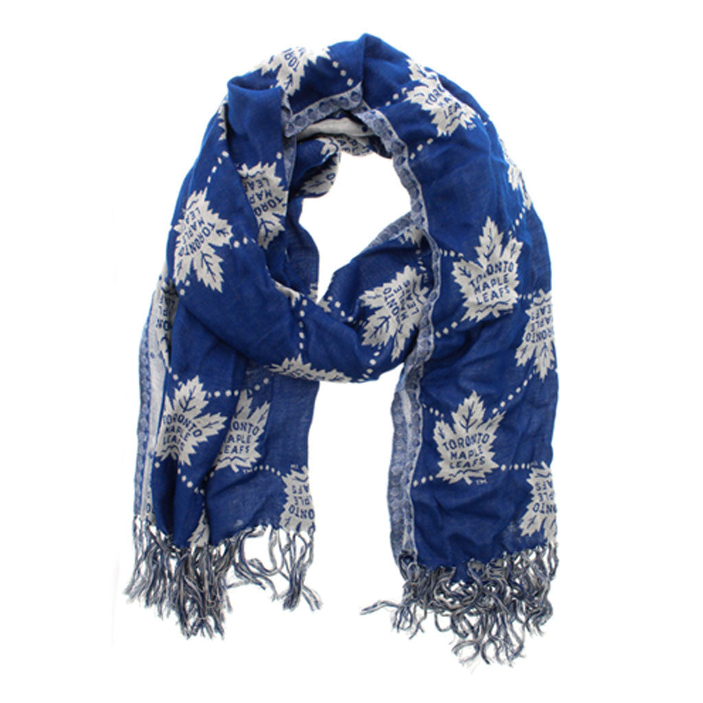 Toronto Maple Leafs Gertex Unisex Multi-Logo Fashion Scarf - shop.realsports