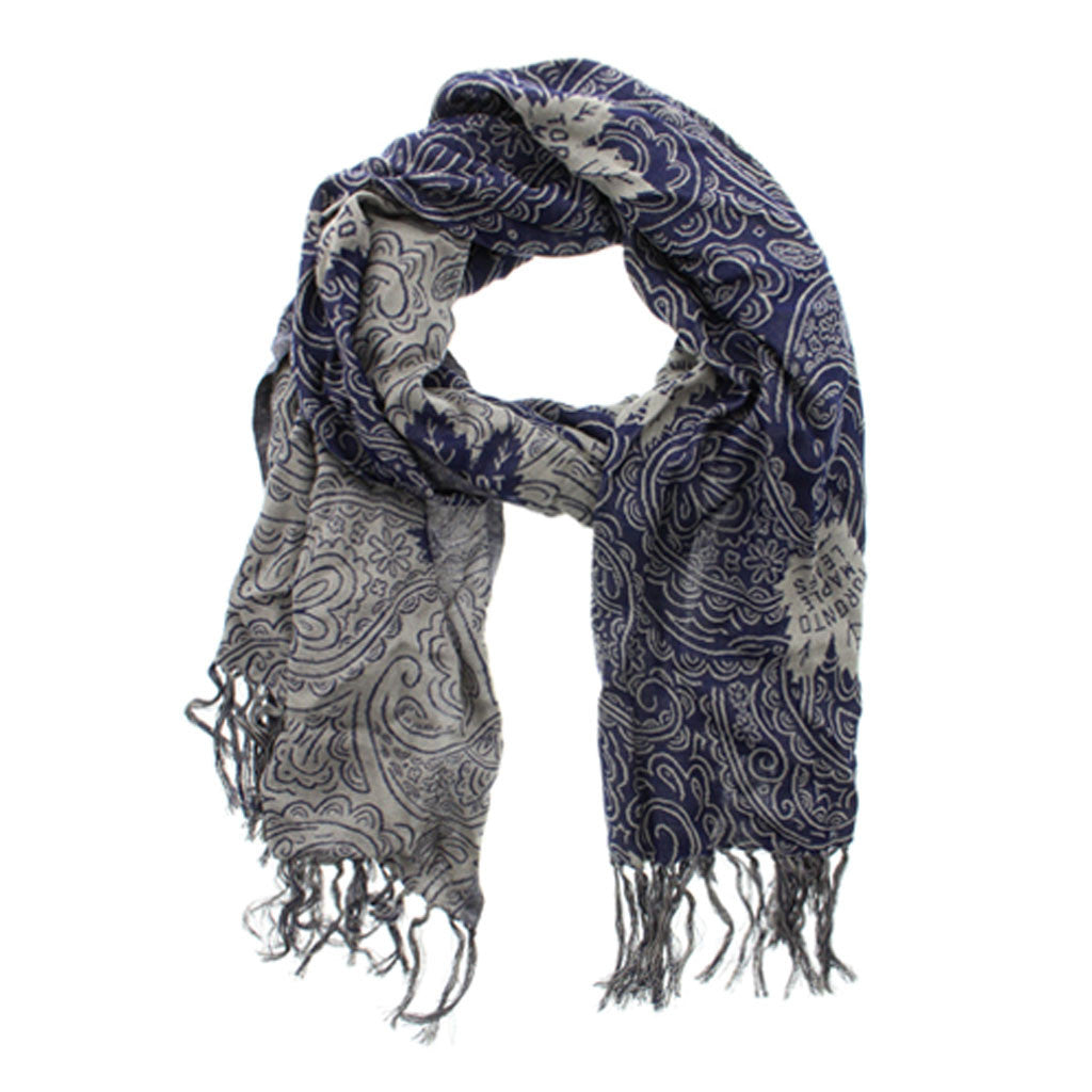 Toronto Maple Leafs Gertex Unisex Paisley Fashion Scarf - shop.realsports