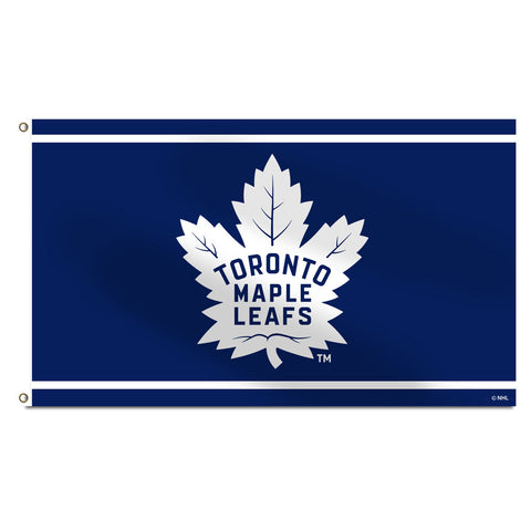 Toronto Maple Leafs New Logo 3'x5' Banner Flag
