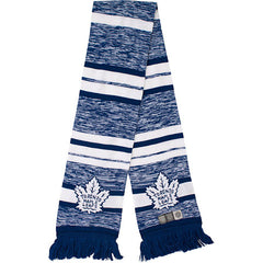 Toronto Maple Leafs Old Time Hockey Men's Simeon Striped Scarf - shop.realsports