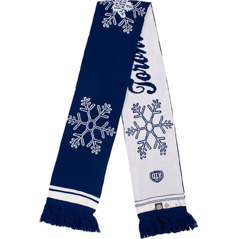 Toronto Maple Leafs Old Time Hockey Ladies Lena Snowflake Scarf