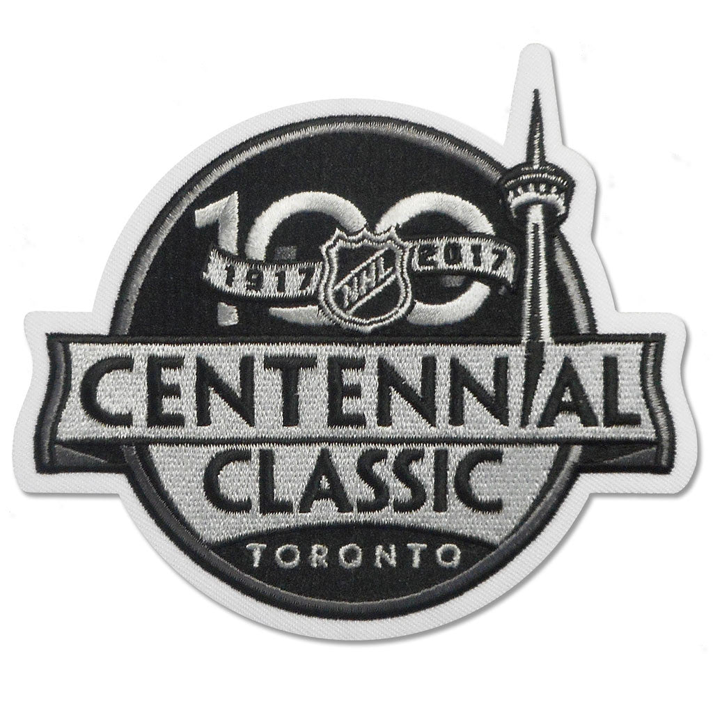 Toronto Maple Leafs Centennial Classic Sweater Patch - shop.realsports