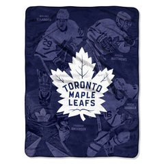 Toronto Maple Leafs Player Blanket