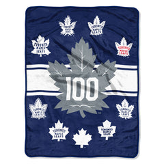 Toronto Maple Leafs 100th Anniversary Blanket