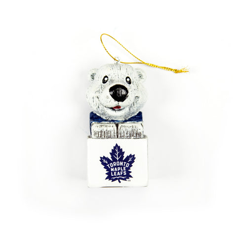Maple Leafs Carlton Mascot Ornament