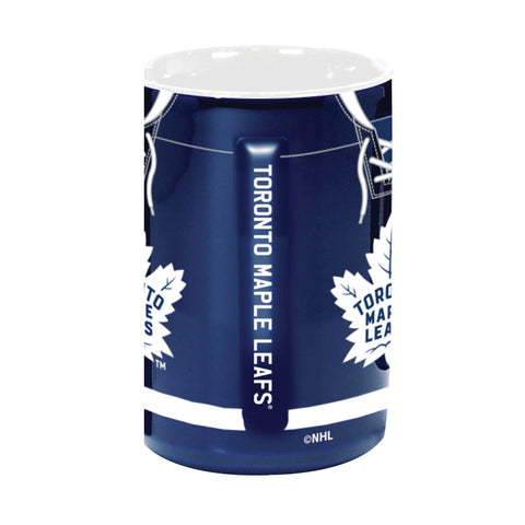 Toronto Maple Leafs 16oz. Jersey Sculpted Mug
