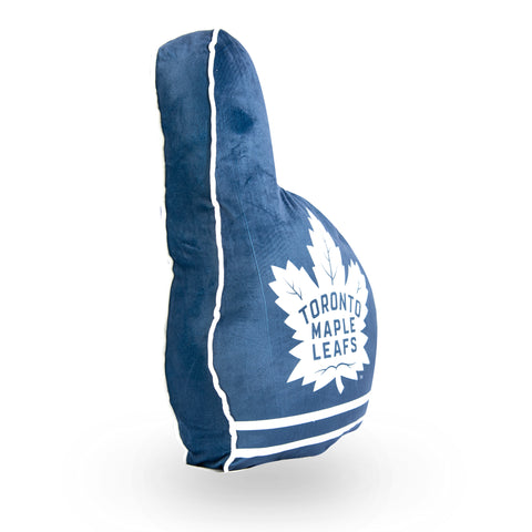 Maple Leafs Logo Print Foam Finger Pillow