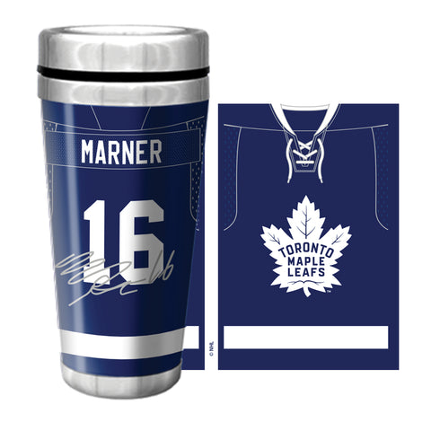 Toronto Maple Leafs 16oz. Marner Jersey Travel Mug