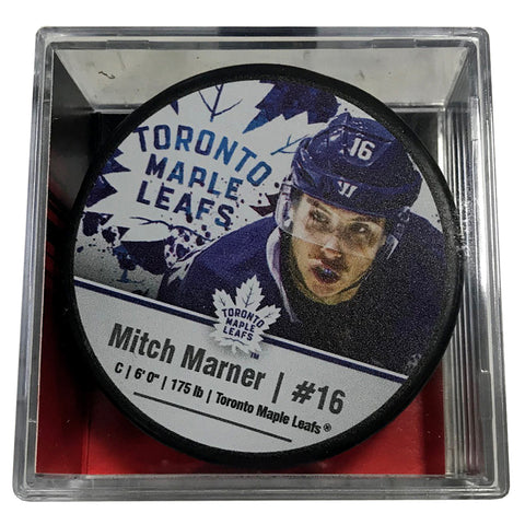 Toronto Maple Leafs Mitch Marner Player Cube Puck