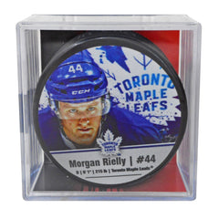 Toronto Maple Leafs Morgan Rielly Player Cube Puck