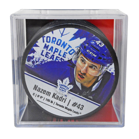 Toronto Maple Leafs Nazem Kadri Player Cube Puck