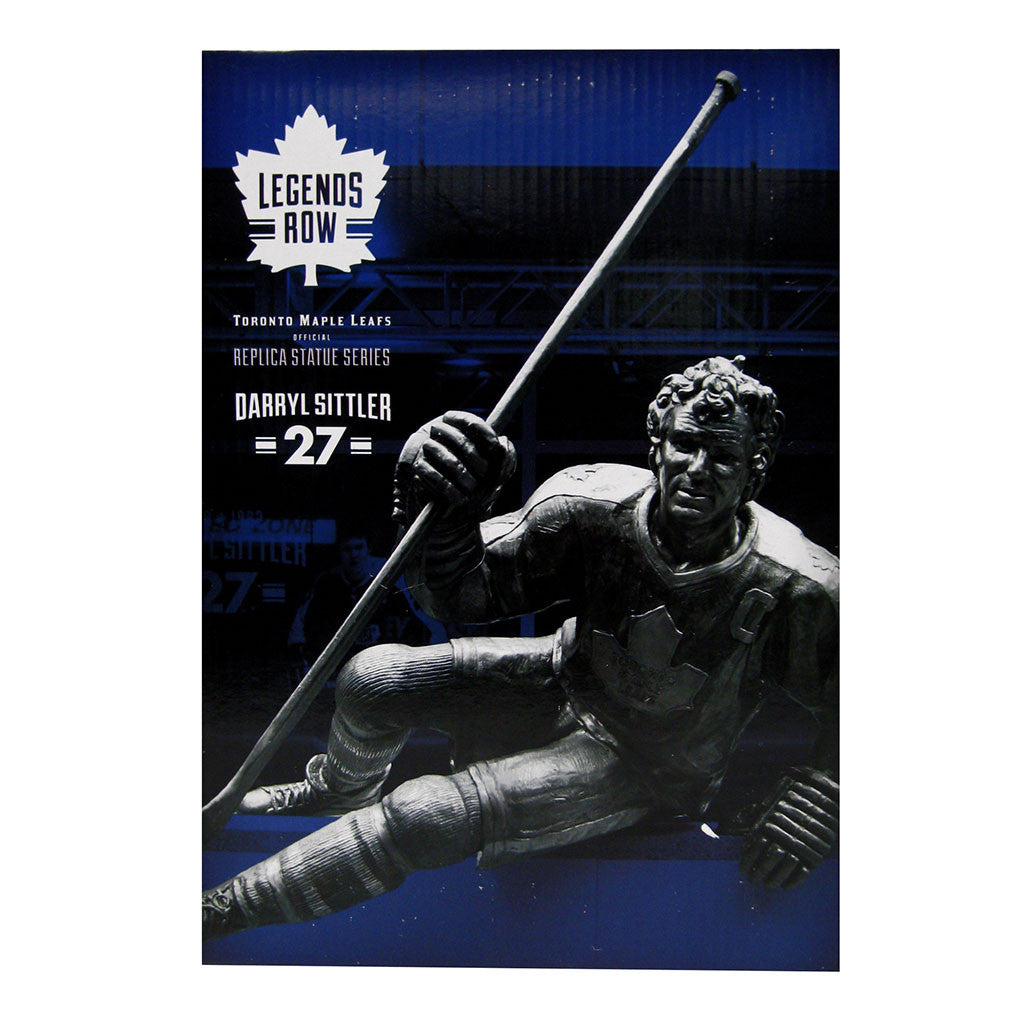"Toronto Maple Leafs 10"" Sittler Legends Row Bronze Replica Figurine - shop.realsports - 2"