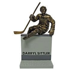 "Toronto Maple Leafs 10"" Sittler Legends Row Bronze Replica Figurine - shop.realsports - 1"