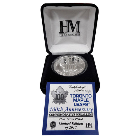 Toronto Maple Leafs Highland Mint Centennial Exclusive Coin