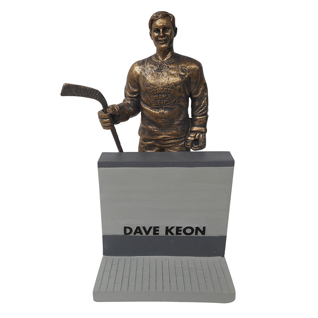"Toronto Maple Leafs 10"" Keon Legends Row Bronze Replica Figurine"