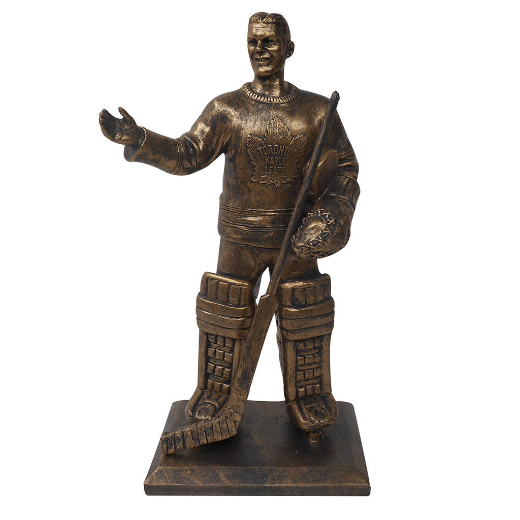 "Toronto Maple Leafs 10"" Broda Legends Row Bronze Replica Figurine"