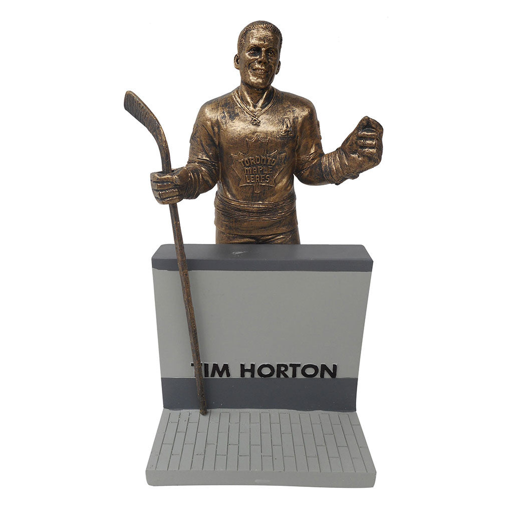 "Toronto Maple Leafs 10"" Horton Legends Row Bronze Replica Figurine"