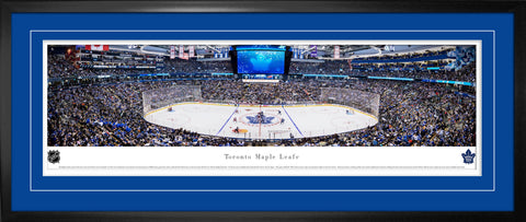 Toronto Maple Leafs Next Century Game Panoramic Deluxe Frame