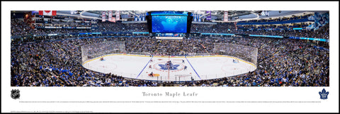 Toronto Maple Leafs Next Century Game Panoramic Plaque