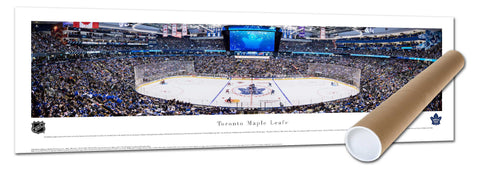 Maple Leafs Next Century Game Panoramic Tubed Print