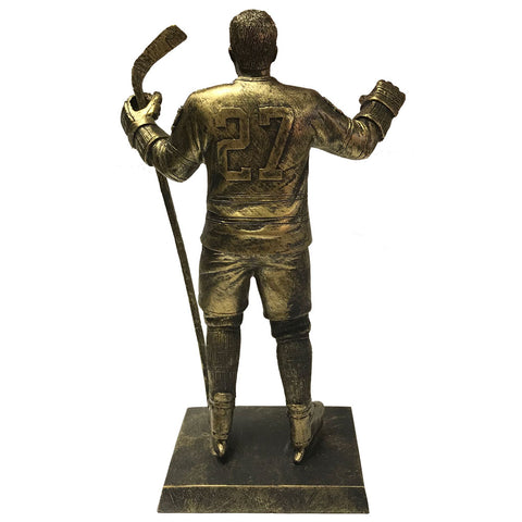 "Toronto Maple Leafs 10"" Mahovlich Legends Row Bronze Replica Figurine"